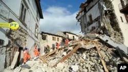 اٹلی میں شدید زلزلے سے تباہی