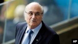 FILE - Fifa President Sepp Blatter.