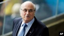 제프 블라터 피파(FIFA) 회장. (자료사진)