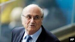 Sepp Blatter, président de la Fifa (Fédération internationale de football association).