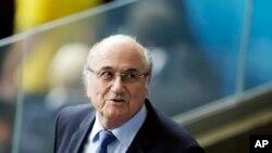 Sepp Blatter, presidente de FIFA.
