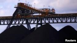 資料照片:澳大利亞新南威爾士州的煤炭生產(2018年3月8日)