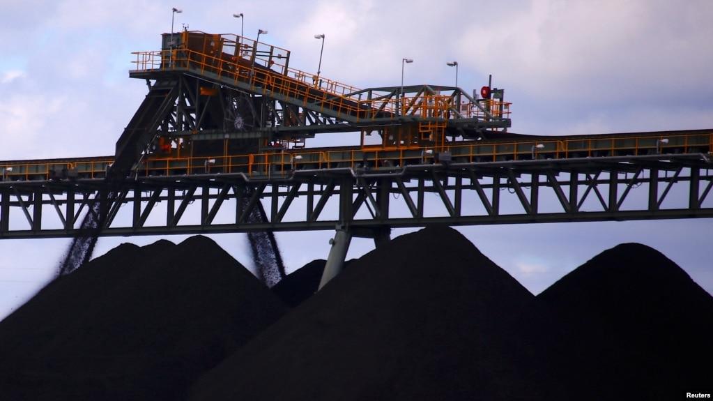 澳大利亚新南威尔士州中部城镇马奇附近的煤矿场。(2018年3月8日)(photo:VOA)