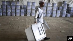 تقاضای شفافیت در شمارش آرای انتخابات پارلمانی افغانستان