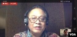 Pakar Epidemiologi UI, Dr. Pandu Riono. (VOA/Yudha).