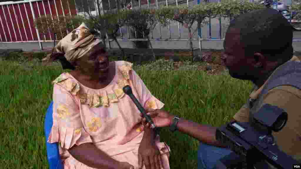 Mama mkimbizi kutoka Uganda katika familia ya Obote.
