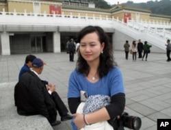 来自浙江的大陆观光客林女士