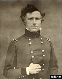 Franklin Pierce in uniform