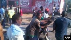 Biểu tình chống việc tăng giá lương thực và nhiên liệu ở Maputo