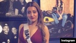 سارا عیدان ملکه زیبایی عراق پس از ۴۵ سال کشورش را وارد مسابقات ملکه زیبایی جهان کرد.