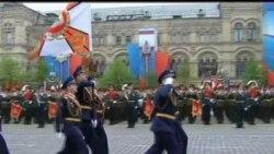 2012-05-09 美國之音視頻新聞: 普京出席勝利日慶祝並發表演說