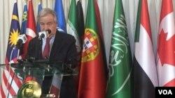 آنتونیو گوترش دبیرکل سازمان ملل متحد