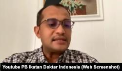 Wakil Menteri Hukum dan Hak Asasi Manusia (HAM) Edward Hiariej (Foto: tangkapan layar dari Youtube PB Ikatan Dokter Indonesia)