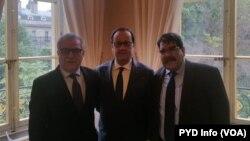 Francois Hollande, Salih Mislim û Xalid Îsa