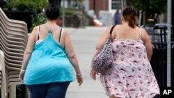 Poco más del 40% de las mujeres son obesas en EE.UU. dice un estudio oficial.