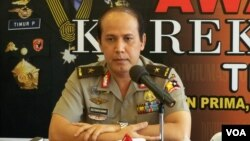 Humas Polri Brigjen Boy Rafli Amar mengatakan ketujuh orang ini diduga merampok toko emas untuk mendanai aksi terorisme. (Foto: Dok)