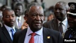 Presiden Zambia Michael Sata, dalam KTT Uni Afrika di Addis Ababa. (Foto: Dok)