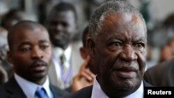 Michael Sata, janvier 2012