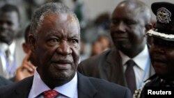 On s'inquiétait de l'état de santé du président zambien, Michael Sata, qui n'avait pas été vu en public depuis environ trois mois (Reuters)