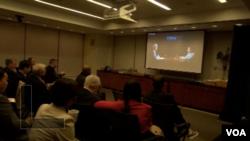 美中关系全国委员会中国市政厅大会纽约分会场(久道拍摄)