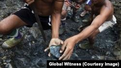 Jade mining in Myanmar.