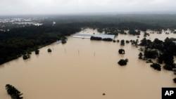 Наслідки повені, викликаної ураганом «Гарві». Г'юстон, Техас