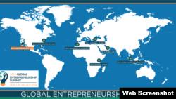 កិច្ចប្រជុំកំពូលសហគ្រិនភាពពិភពលោកឆ្នាំ២០១៦ ឬ Global Entrepreneurship Summit ធ្វើឡើងនៅសាកលវិទ្យាល័យ Standford រដ្ឋកាលីហ្វញ៉ា ចាប់ពីថ្ងៃទី២២ ដល់ ២៤ ខែមិថុនា ឆ្នាំ២០១៦។