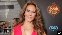 FILE - Actress Kate del Castillo.