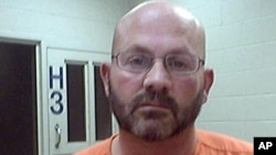This photo provided by the Butler County, Mo., sheriff's Office shows Robert Lile of Osawatomie, Kan. Lile, a convicted rapist.