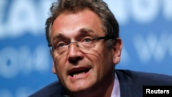 FILE - FIFA Secretary-General Jerome Valcke.