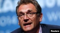 FILE - FIFA Secretary-General Jerome Valcke.