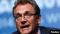 FILE - FIFA Secretary General Jerome Valcke.
