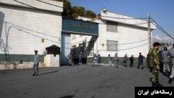 نمایی از زندان اوین