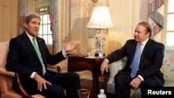 ABD Dışişleri Bakanı John Kerry ve Pakistan Başbakanı Navaz Şerif