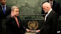 António Guterres toma posse