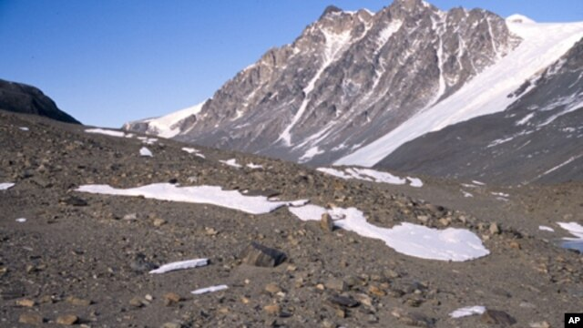 Sparse snow patches in Taylor Valley Antarctica may be an important source of moisture for soil ecosystems in this extreme environment.