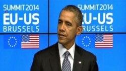 Президент США обсудил украинский кризис