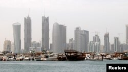 Город Доха, столица Катара