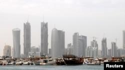 Le port de Doha, au Qatar, le 9 février 2010.