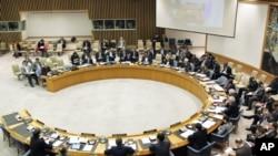 联合国安理会召开会议(资料照片)