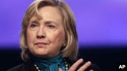 Hillary Rodham Clinton akan merilis buku baru tentang pengalamannya sewaktu menjadi Menlu AS (foto: dok).