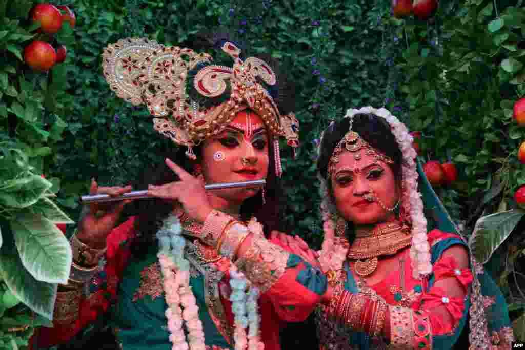 Shyam Baba festivali, Ajmer, Hindistan.