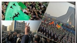 نيروهای امنيتی ايران با بستن خيابانها مانع از تظاهرات اعتراضی اپوزيسيون شدند