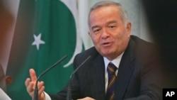 Президент Узбекистана Ислам Каримов (архивное фото)