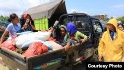 Lebih dari 15 ribu warga terpaksa meninggalkan rumah karena peningkatan aktivitas Gunung Agung di Karangasem, Bali (23/9). (Foto Courtesy : BNPB)