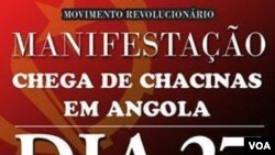 Angola Luanda manifestação