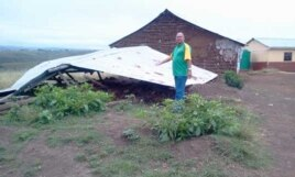 The ANC said it had built many houses for Eastern Cape citizens over the past few years, but the DA says many of the homes have fallen down