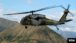El ejército colombiano continúa con sus operaciones contra la narcoguerrilla de las FARC.