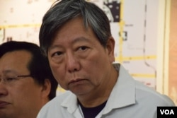 香港支聯會秘書李卓人。(美國之音湯惠芸攝)