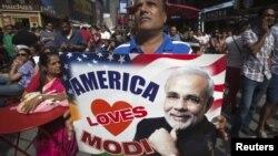 په نیویارک کې د هند د صدراعظم د هرکلي دپاره د هندي الاصله امریکاییانو غونده